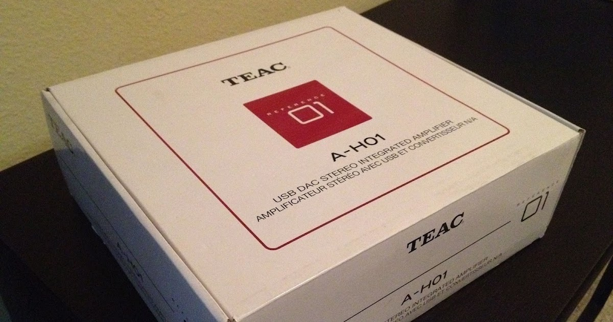 Serious Audio Review Teac Reference A H01 Integrated Dac Amp