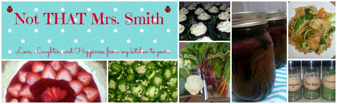 Not THAT Mrs Smith - love, laughter, and happiness from my kitchen to yours