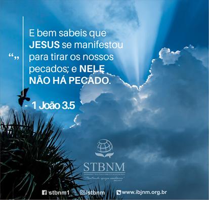 JESUS SE MANIFESTOU