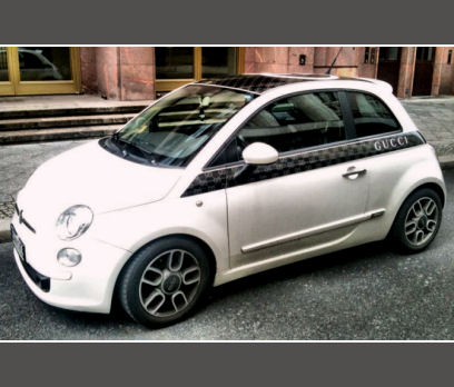 Fiat 500 by Gucci ~ Car Motor