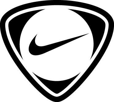 nike black logo