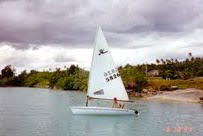 Sailing in Apra Harbor, Guam