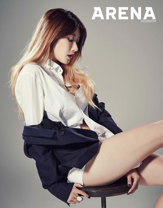 Nine Muses Hyuna
