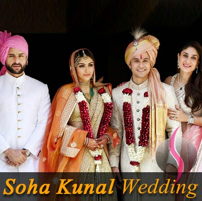 Soha pataudi wedding