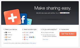 add this widget share blog dengan banyak pilihan model tombol