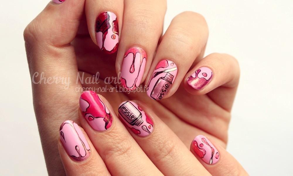Assez CHERRY NAIL ART - Blog mode beauté: Nail art vernis a ongles IM05