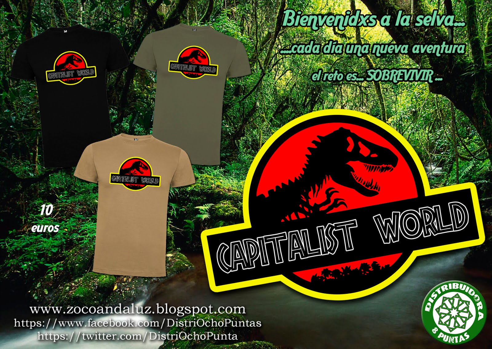 Camiseta Capitalist World