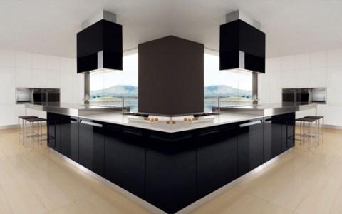 Gera collettini arquitectos c a cocinas modernas for Puertas de cocina minimalistas