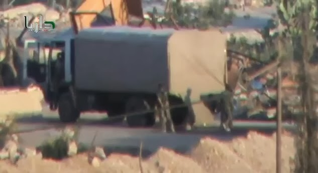 VIDEO: Rockets Used in Damascus CW Attack Fired from Makeshift Flatbeds, Not Military Vehicles Covered RoketLauncher