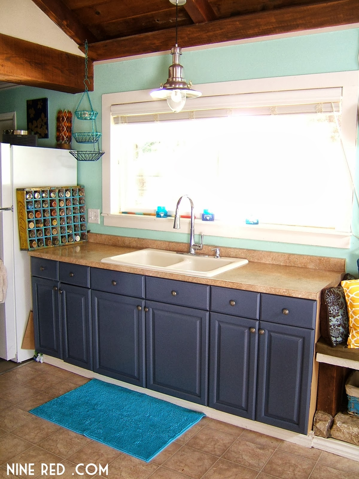 Painting The Kitchen Cabinets Part 2