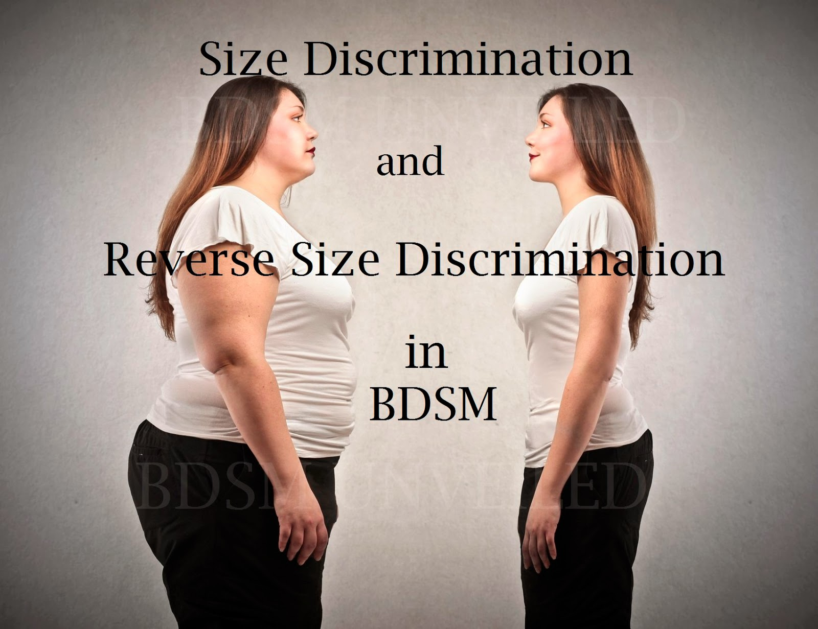 Size discrimination in BDSM