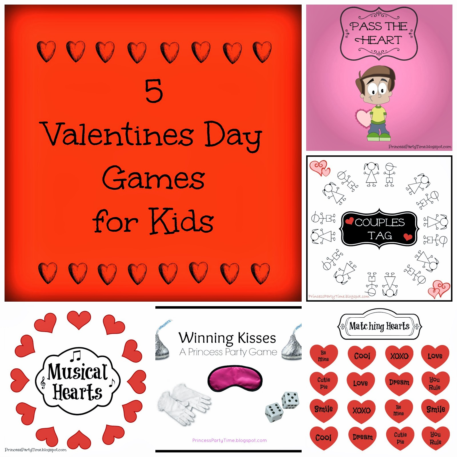 It 39 s a princess thing 5 valentines day games for a school for Valentine party crafts for school