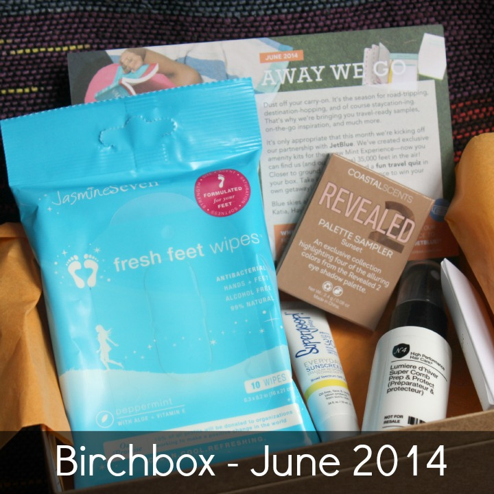 Birchbox June 2014 Review & Unboxing