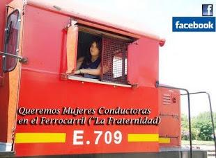 """Blog Colega ; Queremos Mujeres Conductoras en el Ferrocarril (""""La Fraternidad) Unite!"""