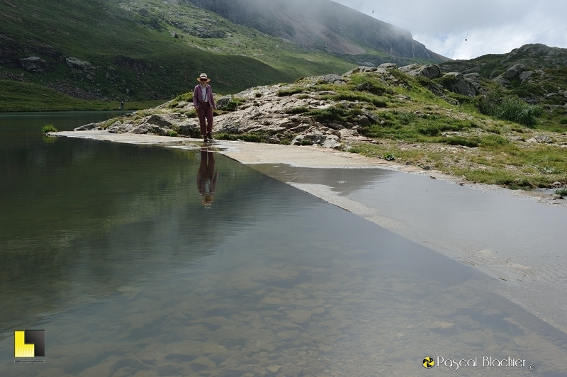 valérie blachier va marcher sur l'eau photo pascal blachier
