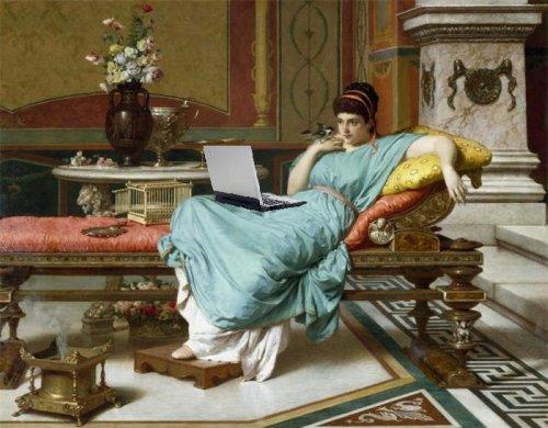 Klasik blogging