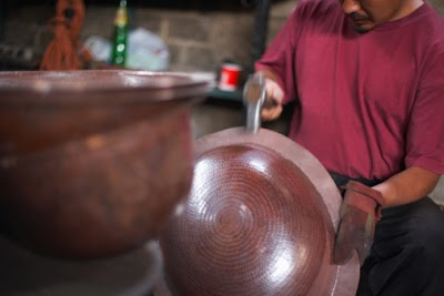 Local Artist Brings Copper Bowl Workshop to Porcupine Mountains Folk School Sept. 17