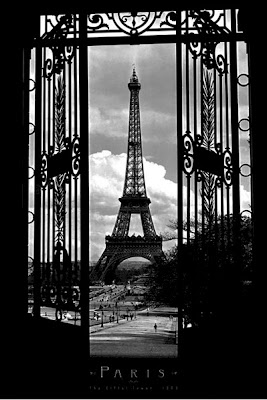 torre tower eiffel deco poster