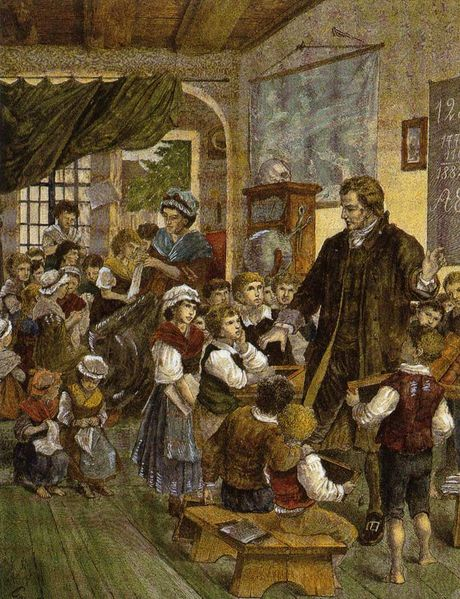 Resultado de imagen de educación siglo XVIII