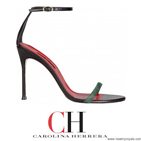 Queen Letizia Style Carolina Herrera Sandals primavera verano 2014