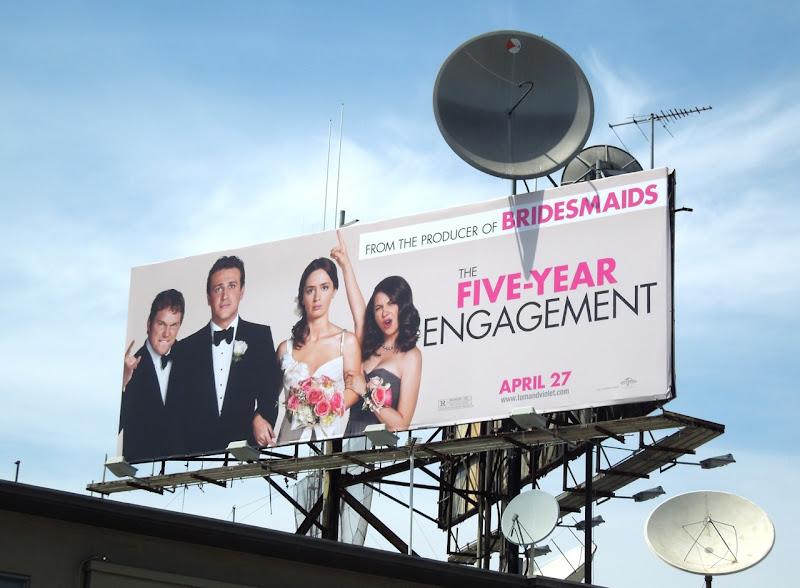 Five Year Engagement movie billboard