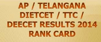 DEE CET Results 2014/ TTC Results 2014/ Diet Cet 2014 Results