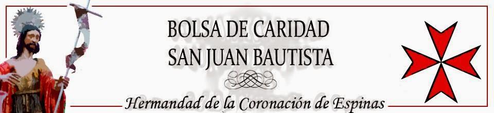 BOLSA CARIDAD SAN JUAN BAUTISTA