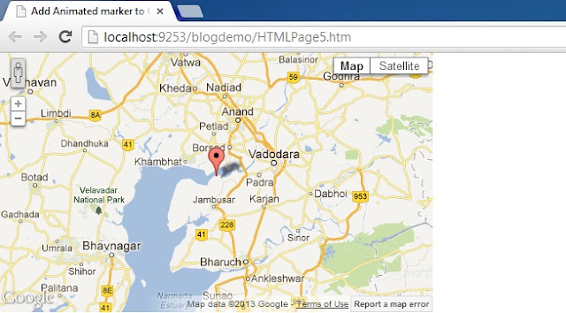 How To Add Custom Marker to Google Maps V3 with JavaScript in Website HTML And C# Asp.net