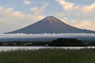 Monte Fuji, no Japão, é reconhecido como patrimônio mundial da Unesco