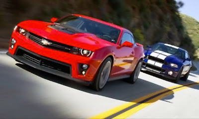 Camaro ZL1 goes head-to-head with Shelby GT500 in 1,242-horsepower comparo