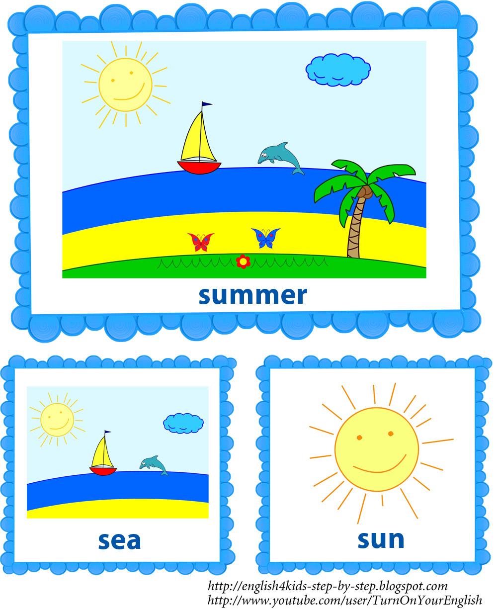 Summer Song For Kids