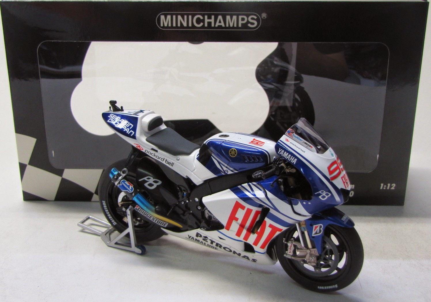 Yamaha YZR-M1 ( MotoGP 2010 ) Lorenzo 1:12 Minichamps