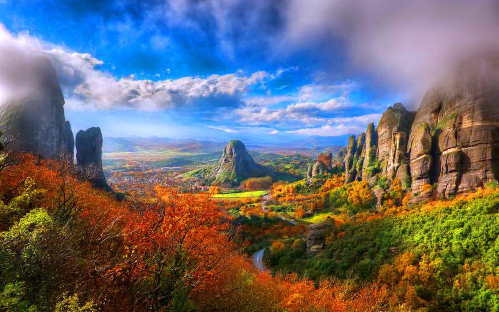 autnumn landscape 5 Yüksek Çözünürlüklü HD Duvar Kağıdı Resimleri