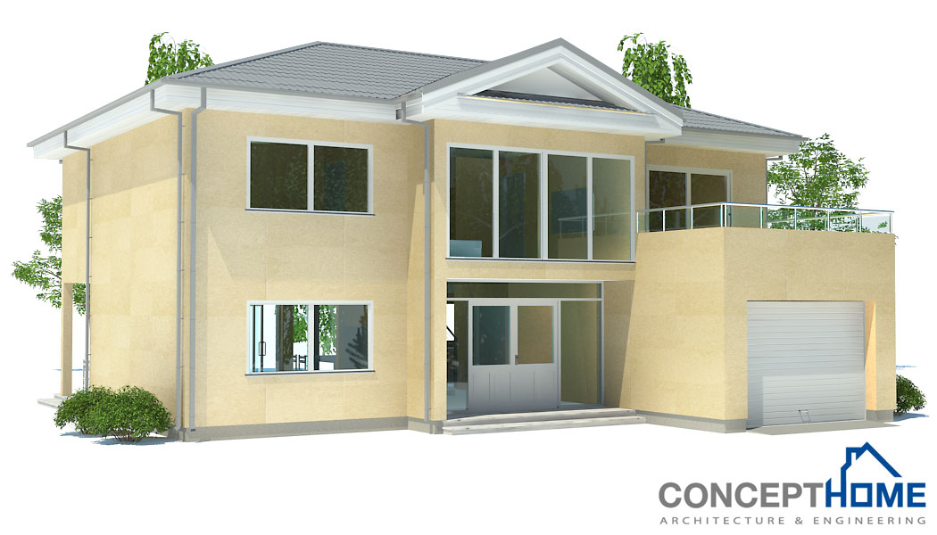 contemporary house plans modern house ch174