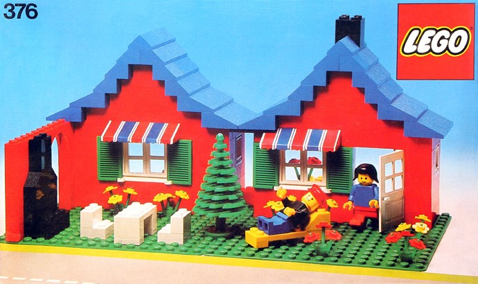 Steve 39 s lego blog the classic lego house for Lego classic house instructions