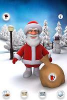 free_android_app_talking_Santa