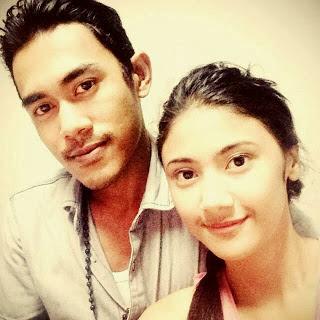Akina Fathia bersama pacar