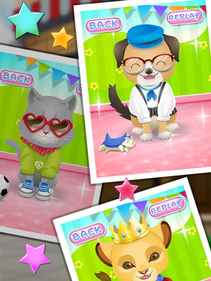 Pet Spa & Salon - Kids Games App iTunes App By George CL - FreeApps.ws