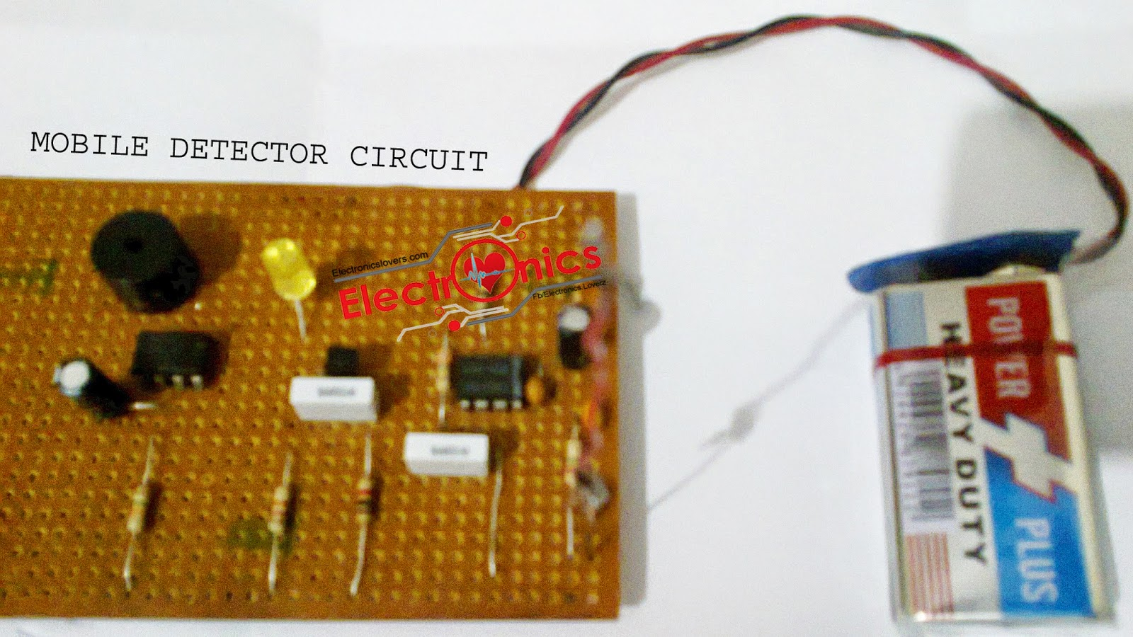 Tag How To Make A Cell Phone Detector Circuit When The Mobile Signal Is Detected By C Ic Output Of Becomes