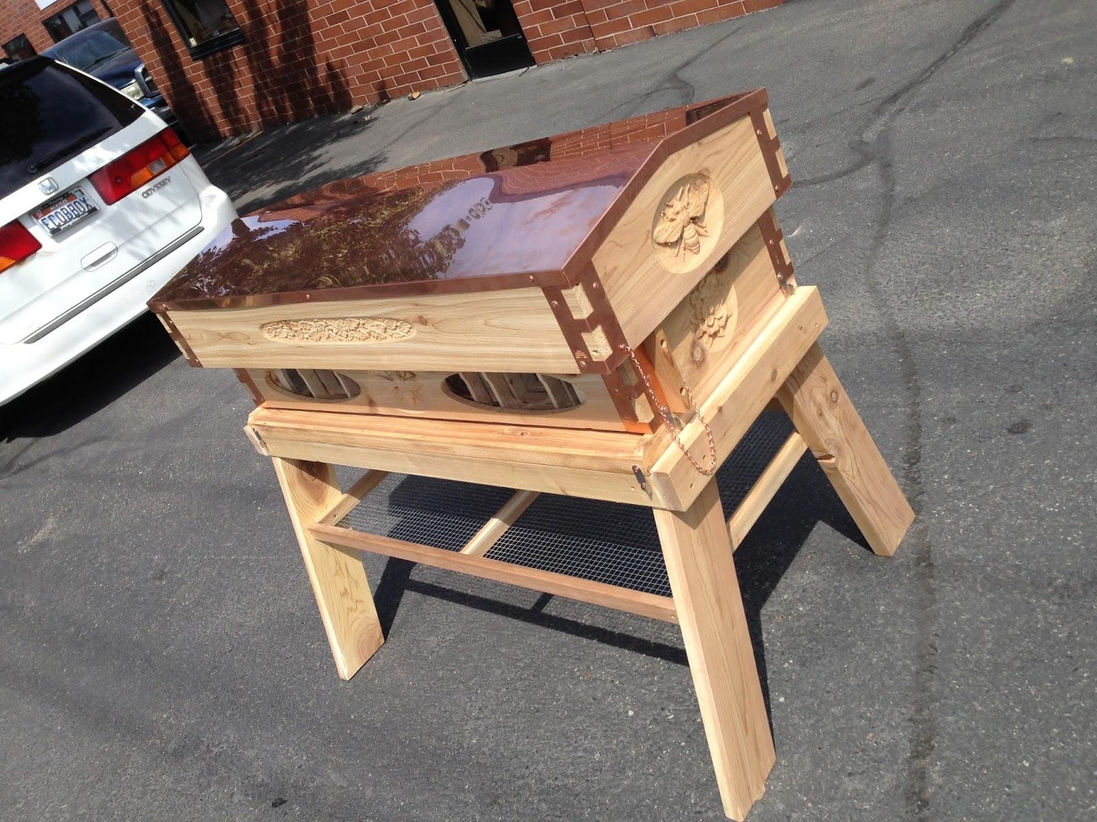Superbe Top Bar Hive / Langstroth Hive Beehive