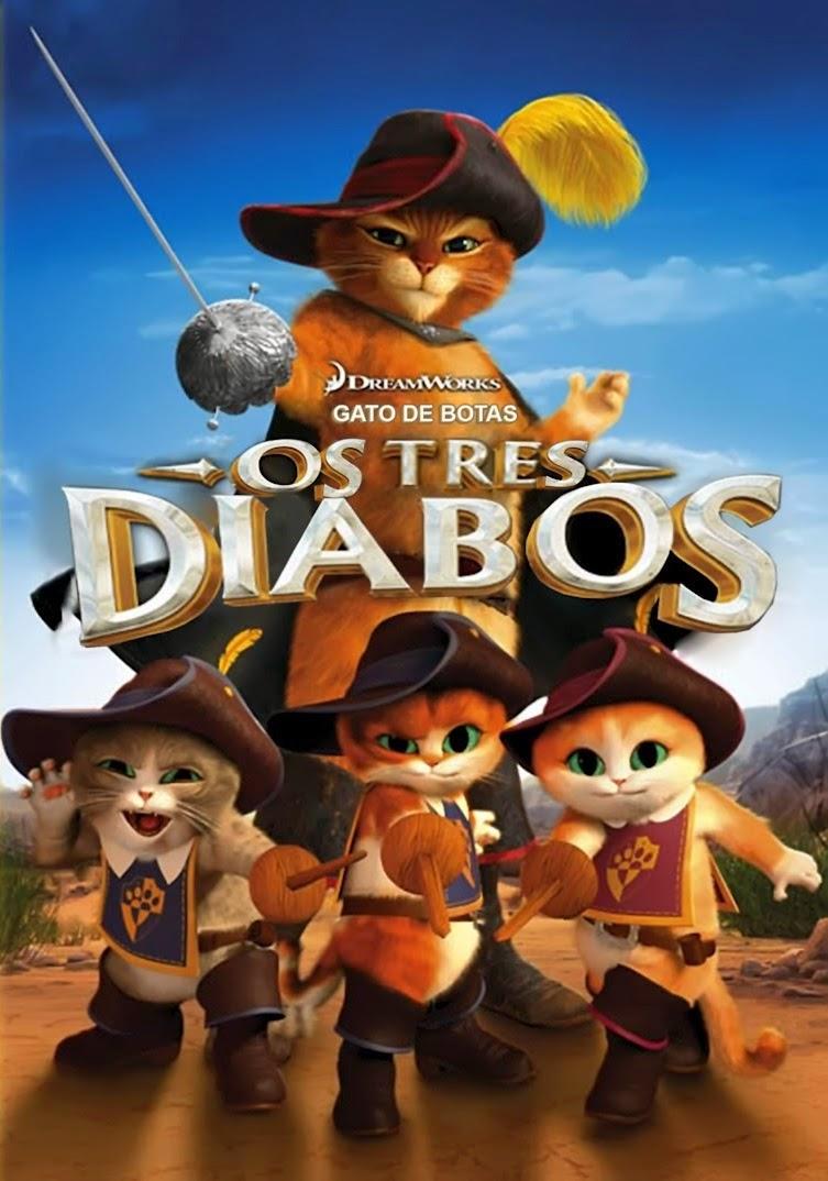 Gato de Botas: Os Três Diabos – Dublado (2012)