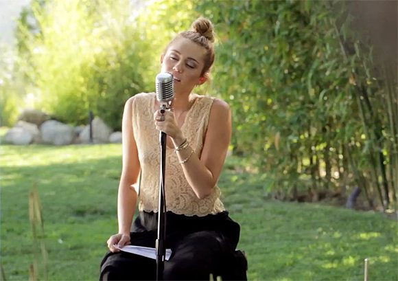 miley cyrus sings lilac wine and promises new single