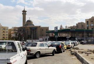 أزمة الوقود فى مصر