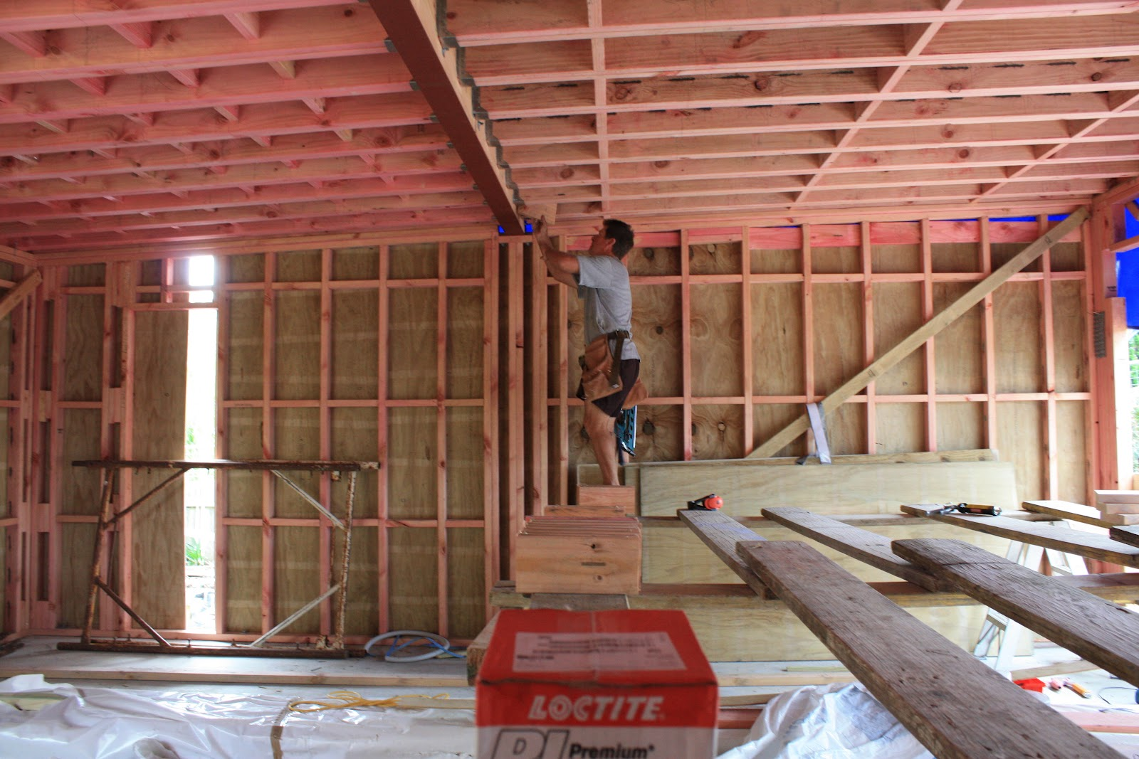TIMBER FRAMED WALLS | The New Zealand\'s First Passive House