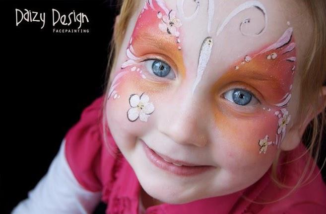 Maquillage pour visage d'enfants Daizy Design