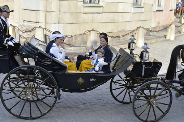 Royal Family Of Sweden Attend The National Day Celebrations