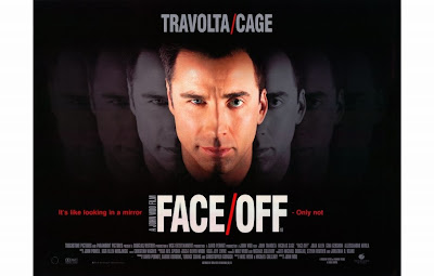 Film - Face Off (starring John Travolta and Nicholas Cage) - Action thriller - Released in 1997