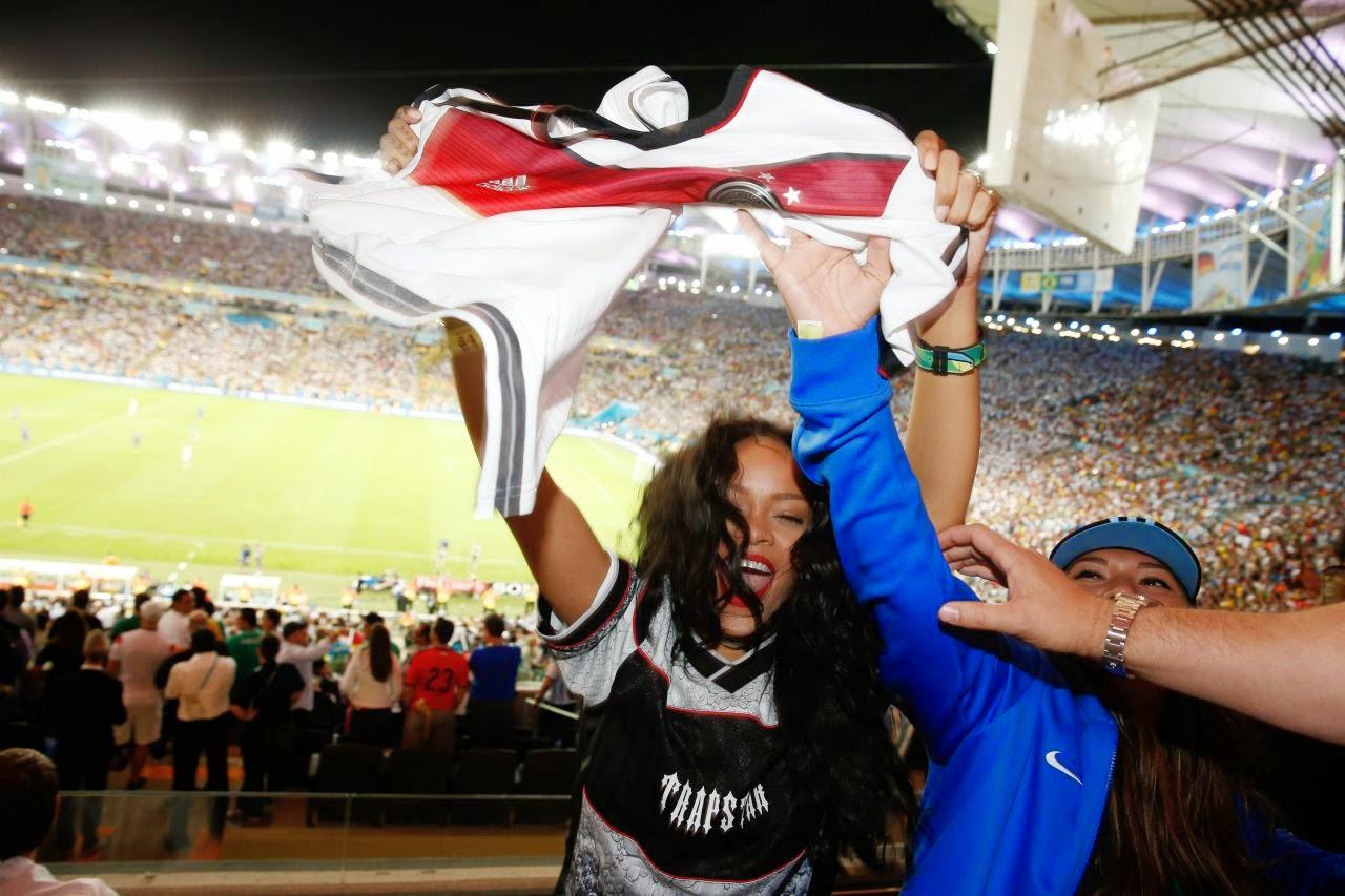 ihanna – 2014 FIFA World Cup Final at Maracana Stadium, Rio de Janeiro