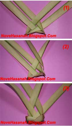 cara membuat mainan tradisional berbentuk bola kecil dari daun kelapa yang masih muda atau janur 1