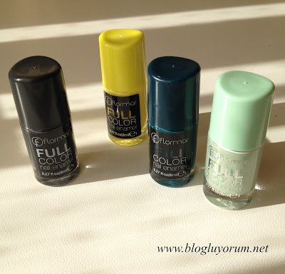 Flormar Full Color Ojeler